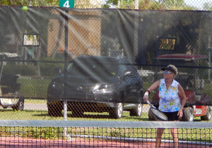 Kings Point Tennis Tournament 2014 Women's Donna Rupert (President)