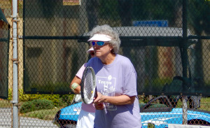 Kings Point Tennis Tournament 2014 Women's Division Lisa Ingraham