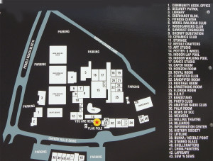 Map of Sun City Center Community Association Central Campus