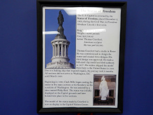 The Statue of Freedom on U S Capital