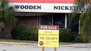Wooden Nickel with Copper Penny commercial property for sale near Sun City Center by Walmart