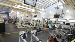 cardio section of Sun City Center Fitness Center Fl