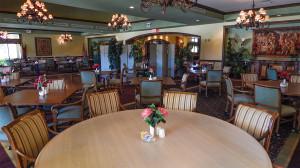 Banquet Room at Club Rennaissance, Sun City Center, FL