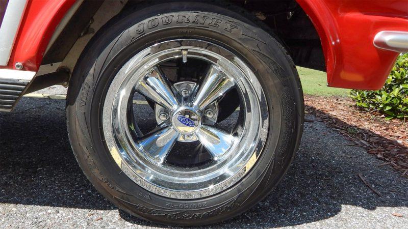 Cragar Chrome Wheels On 95 Ford Mustang Club Car Golf Cart