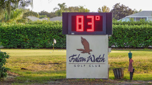 Falcon Watch Golf Club time clock