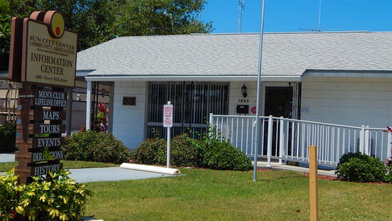 Information Center Cherry Hills Drive, Sun City Center, FL