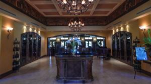 Inside lobby at Club Renaissance, Sun City Center, FL