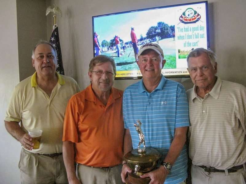 Left to Right:  Syl Amos, Rex Gibbons, Mike Miller, and Don Mowry | Hogans Golf Club of Sun City Center and Kings Point
