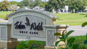 Sign Falcon Watch Golf Club 1000 Kings Blvd, Kings Point, Sun City Center