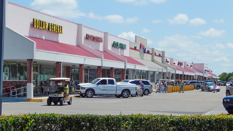 Sun City Center Plaza Is A Centrally Located Strip Mall In