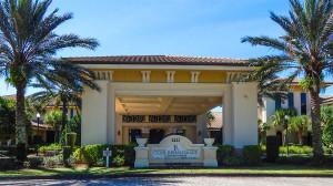 The portico at Club Renaissance, Sun City Center, FL