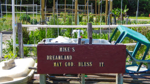 Tillers and Toilers, MIKES DREAMLAND GARDEN MAY GOD BLESS, Sun CIty Center, FL