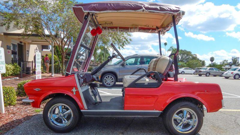ec574101369 Customized Golf Carts Page 2 Sun City Center Photosrhsuncitycenterphotos  Cragar  Golf Cart Hub Caps At