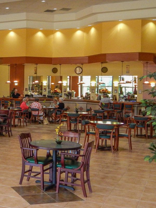 Cafe serving sandwiches, beverages in Kings Point, Sun City Center