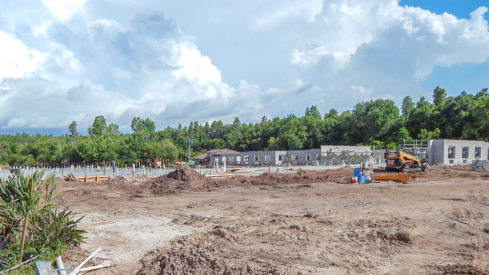 Construction site of Inspired Living At Sun City - A Validus Memory Care Community in Sun City Center, FL