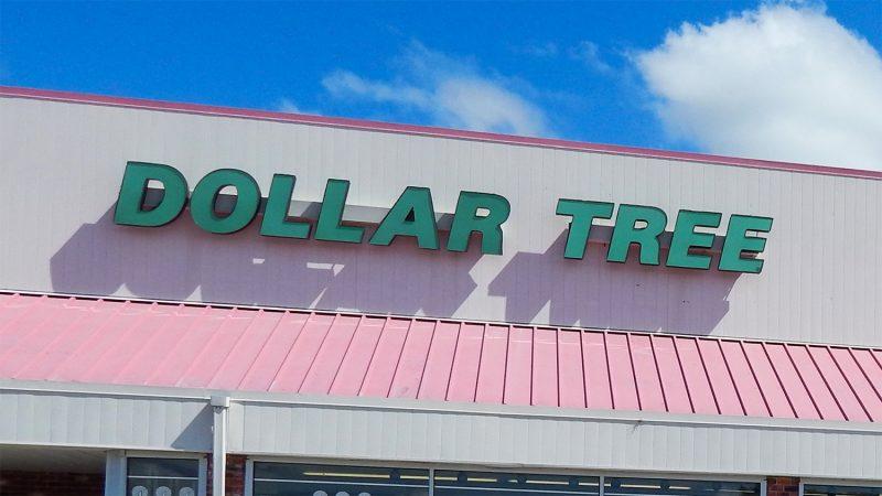 Dollar Tree Sign On Stripmall In Sun City Center