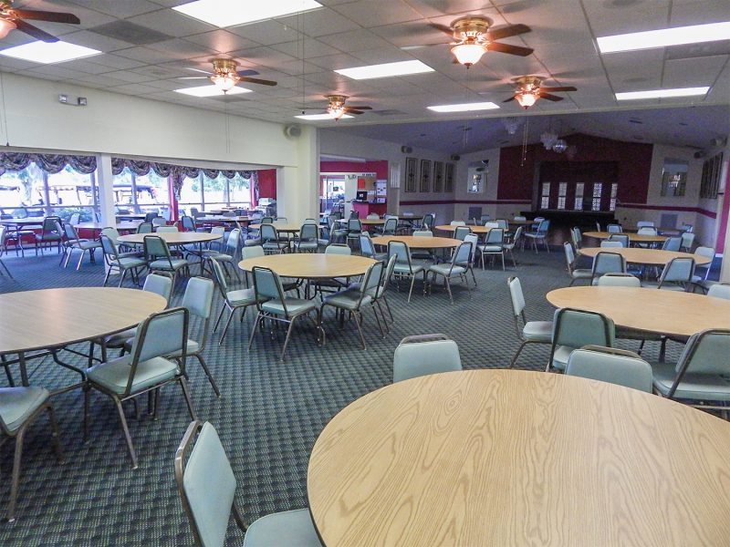 Inside look at clubhouse of Coloosa Golf and County Club, Sun City Center, FL
