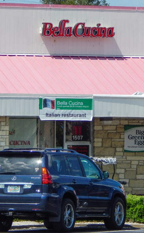 Italian Restaurant Bella Cucina in Sun City Center Plaza