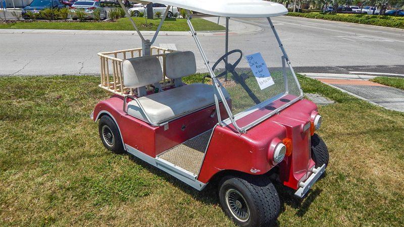 Pink Club Car golf cart $500 dollars, Sun City Center