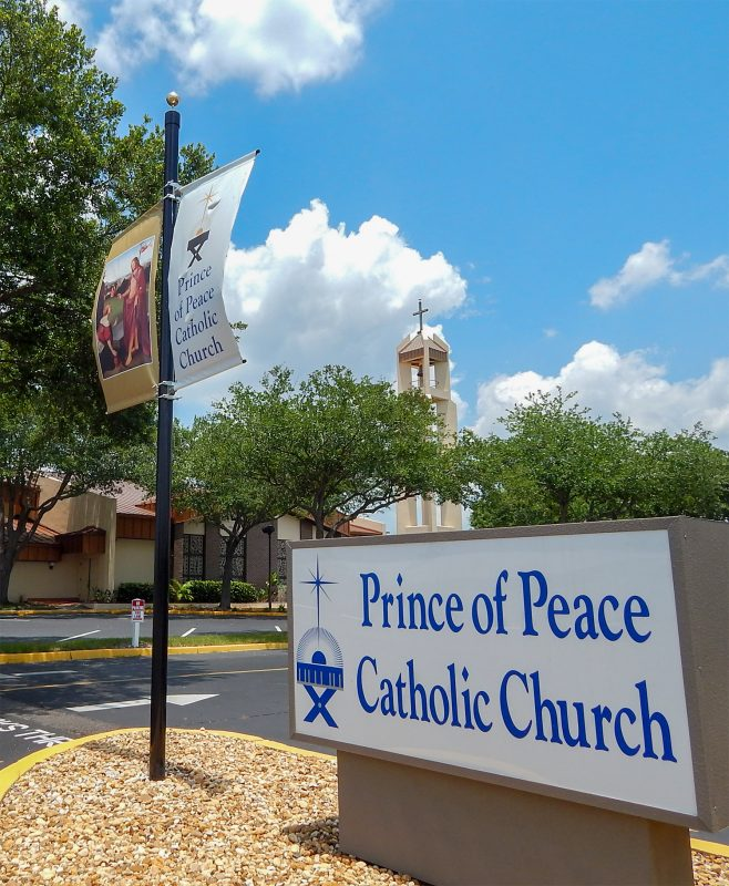 Prince of Peace Catholic Church in Sun City Center, FL