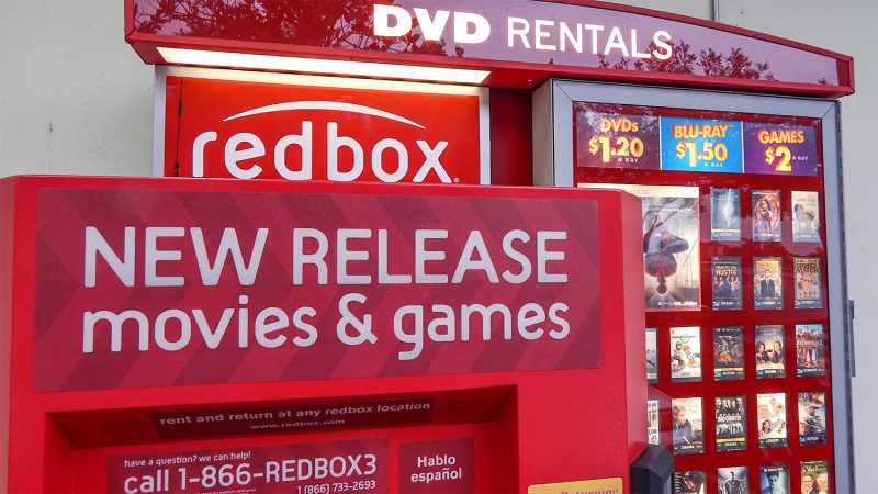 Redbox DVD Rental Kiosk at CVS in Sun City Center, FL