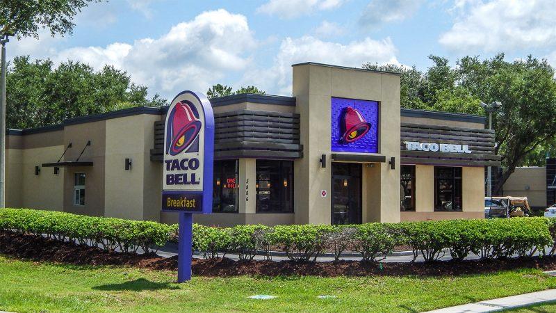Remodeled Taco Bell Jun 2014, Sun City Center, FL