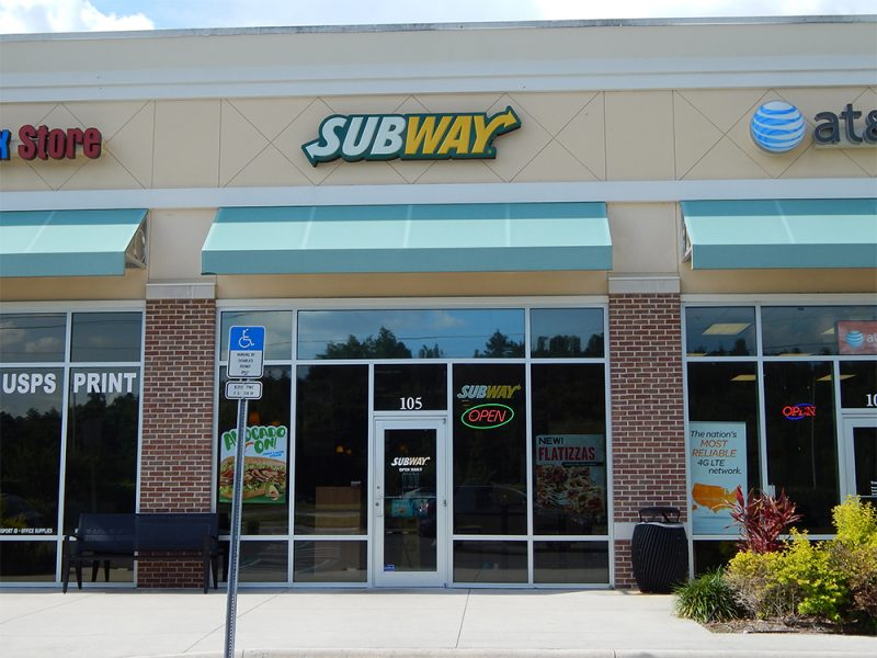 Subway in Cypress Village Shopping Center, Sun City Center, FL