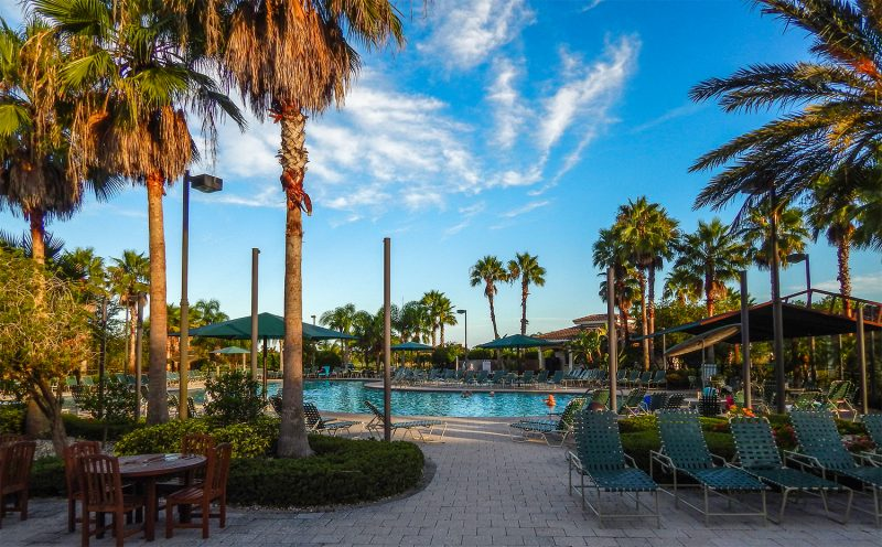 Sunrise At Kings Point South Clubhouse Pool Sun City