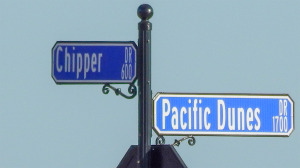 Oct 26, 2014 - 600 Chipper Dr and 1700 Pacific Dunes Dr is the first street sign in new gated community in Sun City Center