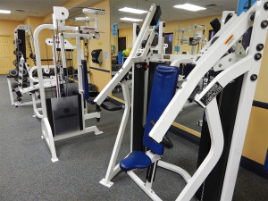 Bench machine by Hammer Strenght at South Clubhouse in Kings Point