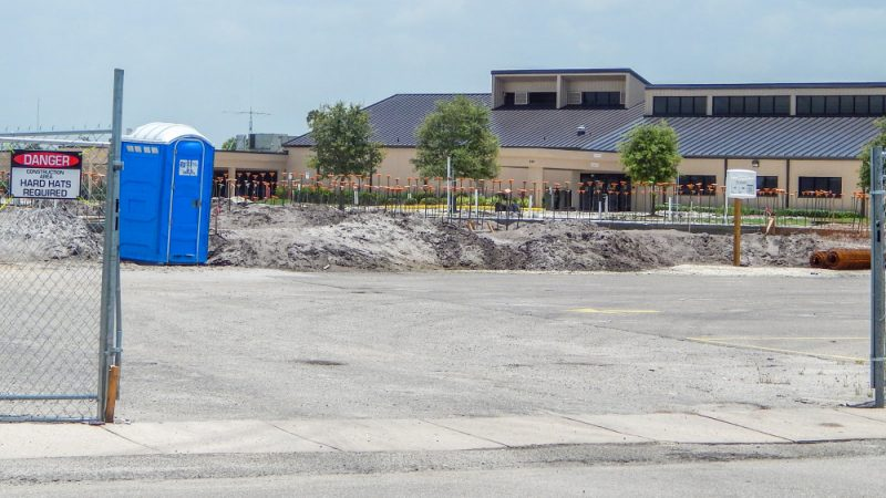 June 25, 2014 - concrete foundation poured for Samritan Multipurpose building poured in SCC CA Main Campus