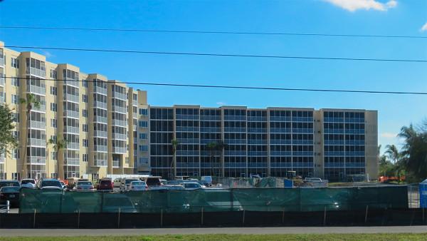 Feb 21, 2016 - Construction in parking lot at Sun Towers in Sun City Center, FL/suncitycenterphoto.com