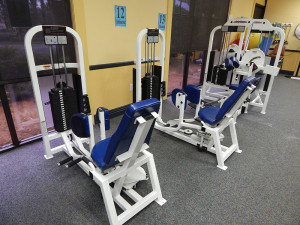 Hip Abductor Machines at South Clubhouse Fitness Center in Kings Point, Sun City Center, FL