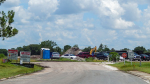 July 22, 2014 - RIPA construction of new gated community from Chipper Drive in Sun City Center, FL