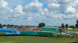July 15, 2014 - new gated community in Sun City Center being built on old Ben Sutton golf school property