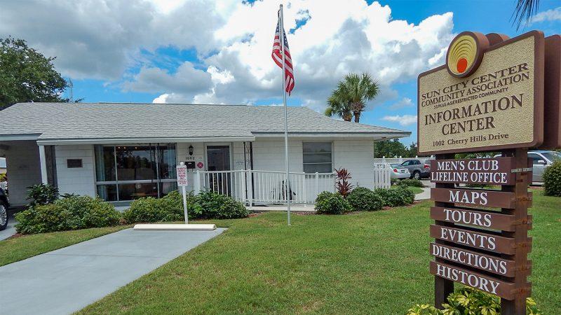 Old Information Center 2014, 1002 Cherry Hills Drive, Sun City Center
