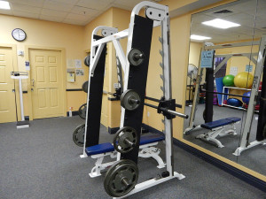 Smith Machine at South Club Fitness Center