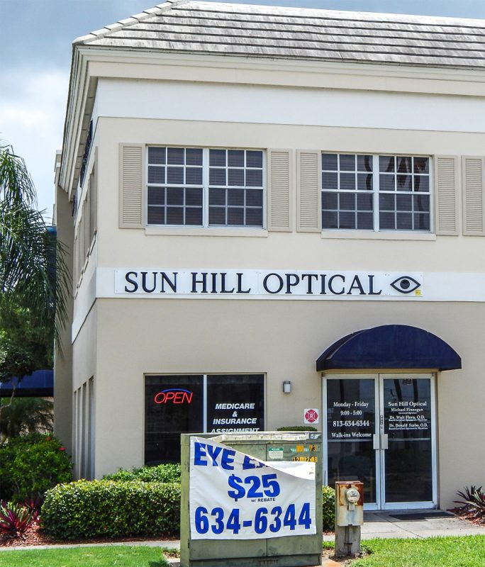 Sun Hill Optical, Sun City Center Plaza