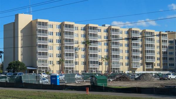 Feb 25, 2016 - Sun Towers parking lot under construction in Sun City Center, FL SouthShore/photonews247.com