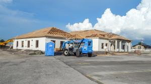 Aug 6, 2014 - plywood applied to roof of Samaritan Multi-purpose building in Sun City Center, FL 33573