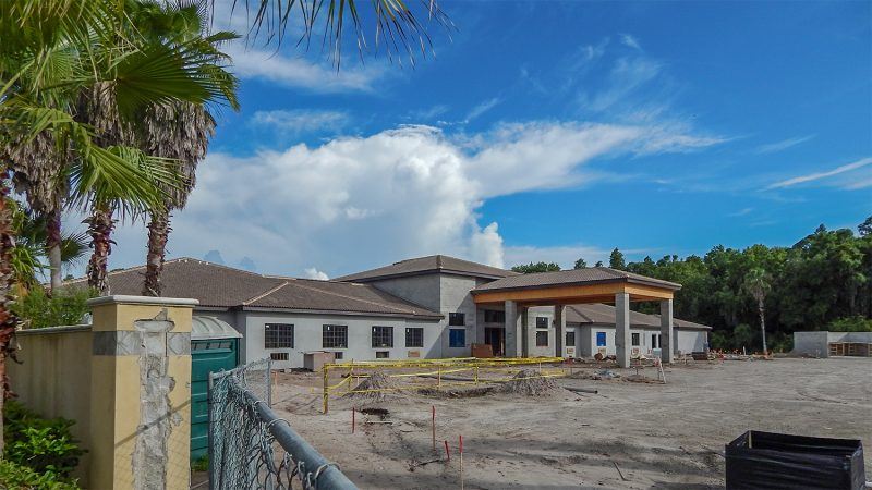 July 26, 2014 - Construction site of Inspired Living At Sun City, on Commercial Center Drive