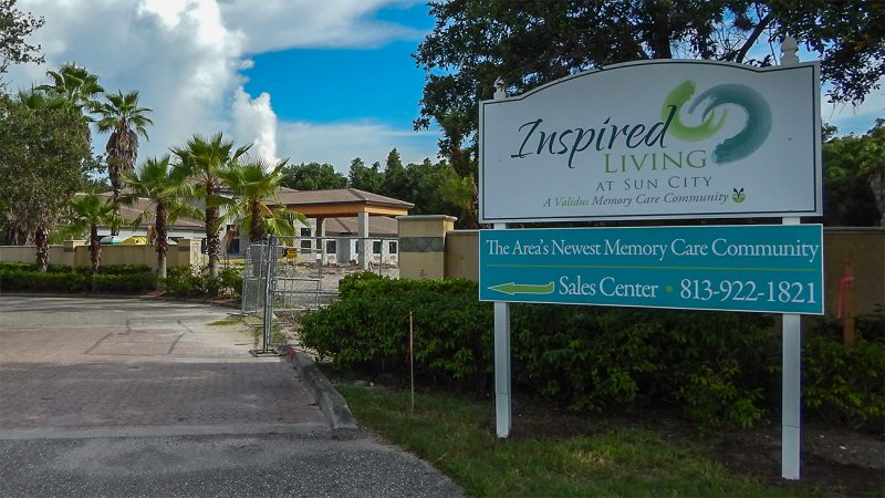 July 26, 2014 - Inspired Living At Sun City, The Areas Newest Memory Care Community
