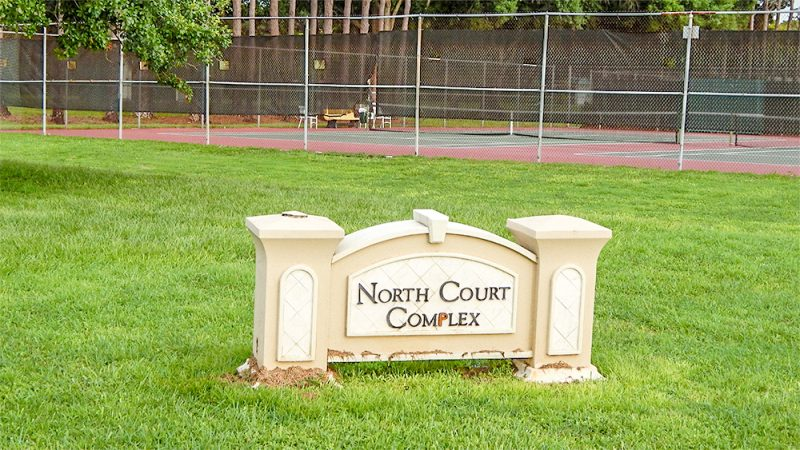July 20, 2014 - North Court Campus for tennis, lawn bowling and shuffle board