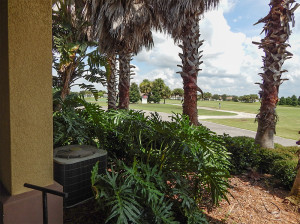 July 22, 2014 - Scepter Clublink Golf Club (northeast view from patio) in the gated Kings Point community of Greater Sun City Center, FL