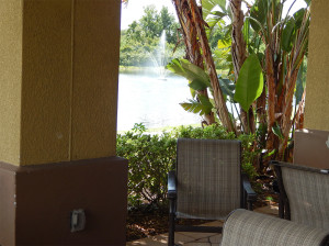 July 22, 2014 - Scepter Clublink Golf Club (outside view standing in the patio) in the gated Kings Point community of Greater Sun City Center, FL