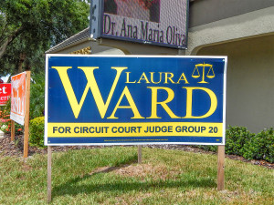 Aug 2, 2014 - Laura Ward's 2014 Campaign sign For Circuit Judge Group 20