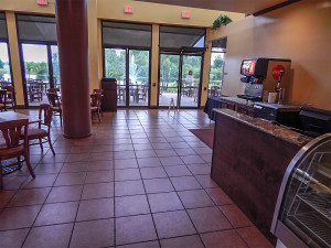 New Palm Court Cafe at South Clubhouse in Kings Point