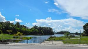 North Lake bridge from N Pebble Beach Blvd, Sun City Center, FL