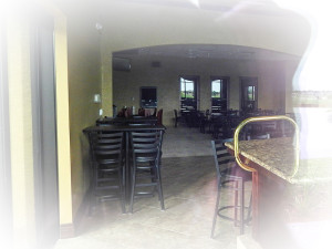 Palm Court Bar complete waiting for license at Kings Point South Club