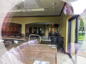 Palm Court Bar still waiting for liquor license at Kings Point South Club, Sun City Center, FL